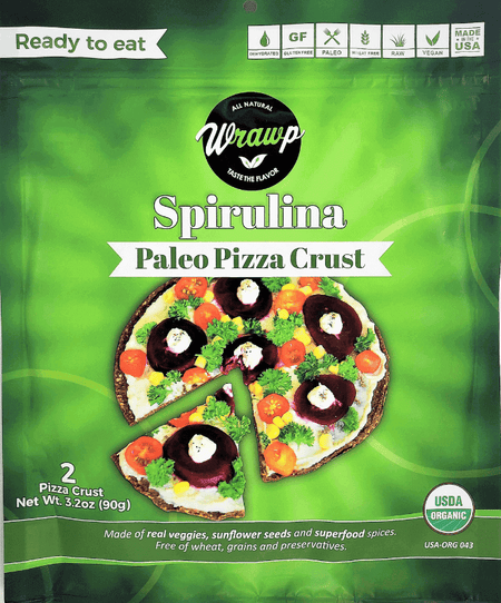 Imperfect Spirulina Pizza Crust