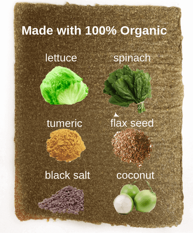 Imperfect Veggie Life Wraps Bulk (12 sheets)