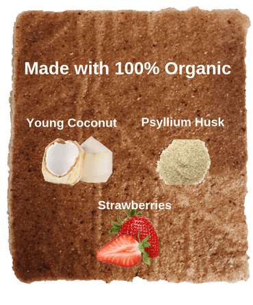 Coconut Wraps: Strawberry