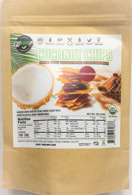 Coconut Chips: Cinnamon