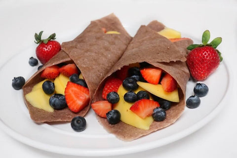 Coco Nori Strawberry Coconut Wraps