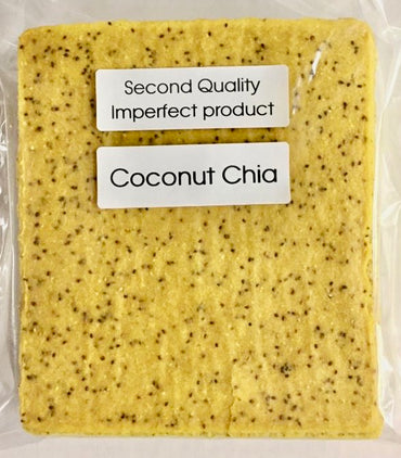 30% Saving! - IMPERFECT Coconut Wraps: Chia (20 Sheets)