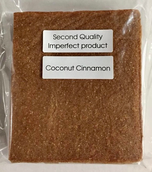 55% Saving! - IMPERFECT  Coconut Wraps: Cinnamon (20 Sheets)