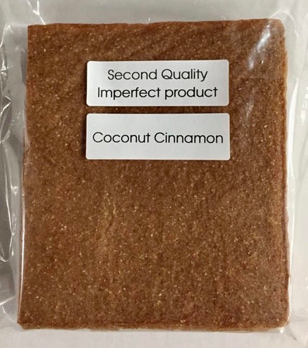 25% Saving! - IMPERFECT  Coconut Wraps: Cinnamon (20 Sheets)