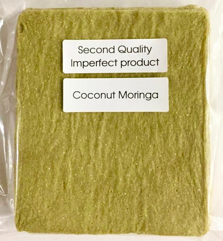 25% Saving! - IMPERFECT Coconut Wraps: Moringa (20 Sheets)