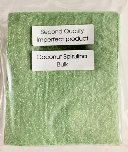 25% Saving! - IMPERFECT Coconut Wraps: Spirulina (20 Sheets)