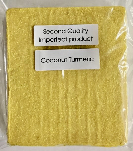 25% Saving! - IMPERFECT  Coconut Wraps: Turmeric (20 Sheets)