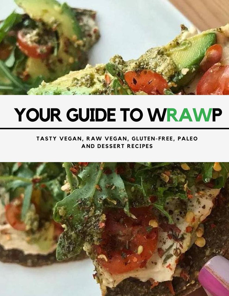Wrawp Foods Recipe Book - Wrawp Foods