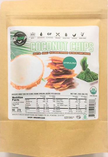 Coconut Chips: Spirulina