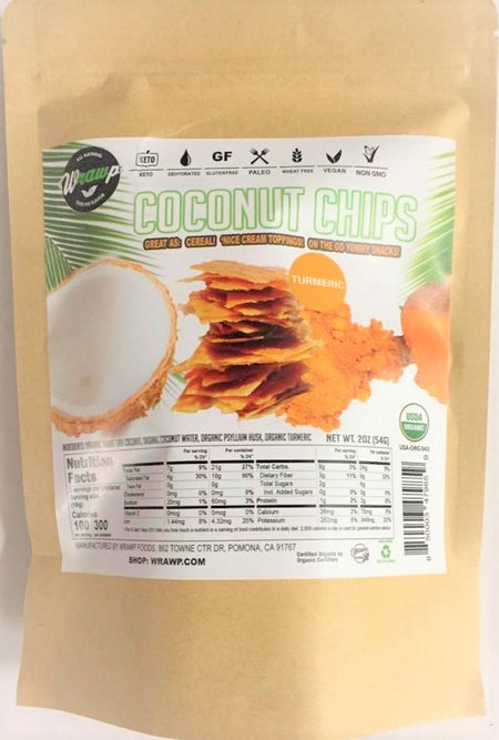Coconut Chips: Turmeric