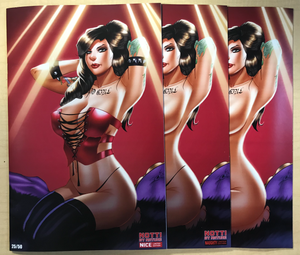 Notti by Nature NICE, NAUGHTY & CHASE 3 Book Set by Ryan Kincaid BooKooComix Exclusive Editions Limited to Only 25 Serial Numbered Sets!!!