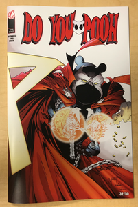 Do You Pooh? #1 Spawn #300 Greg Capullo Homage Variant Cover by Marat Mychaels 50 Copies Made!!!