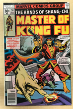 Load image into Gallery viewer, Master of Kung Fu (vol. 1) #50 Dave Cockrum Cover Marvel March 1977 VF Shang-Chi Fu Manchu