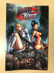 Notti & Nyce Zombie King Gambit Zombie Queens NAUGHTY Variant by Marat Mychaels