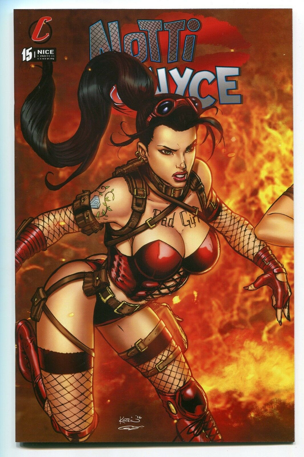 Notti & Nyce #15 A NICE Variant Cover by Alex Kotkin Counterpoint Entertainment