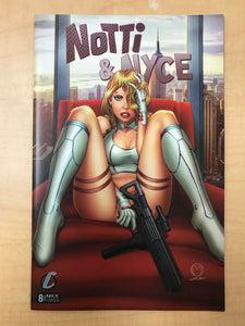 Notti & Nyce #8 Marat Mychaels NICE Variant Cover Counterpoint Comics SOLD OUT