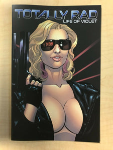 Totally Rad Life of Violet #1 Terminator Homage Nice & Naughty Variant Cover Set