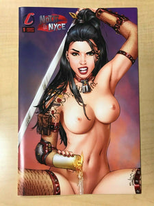 Notti & Nyce #1 EBAS Top & Bottom NAUGHTY Variant Set NUDE CHASE Candle Wax