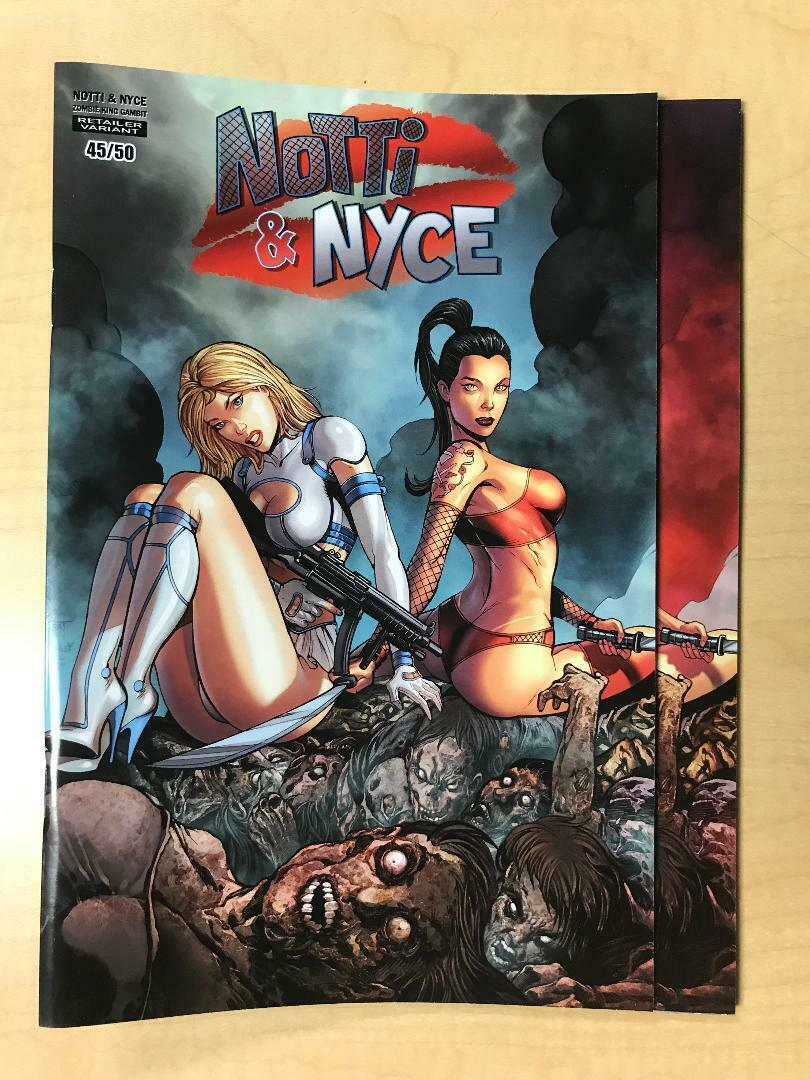 Notti & Nyce Zombie King Gambit Zombie Queens NAUGHTY & NICE Set Marat Mychaels