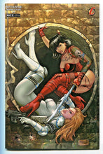 Load image into Gallery viewer, Notti & Nyce Menage A Trois #1 Alex Kotkin NAUGHTY Variant Cover Ying & Yang