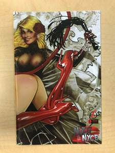 Notti & Nyce #13 B Franchesco NAUGHTY TOPLESS Variant Cover Counterpoint Comics