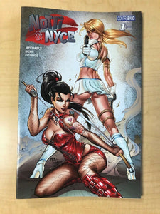 Notti & Nyce #1 NICE Variant Cover by MIKE DEBALFO Contraband Comics SOLD OUT