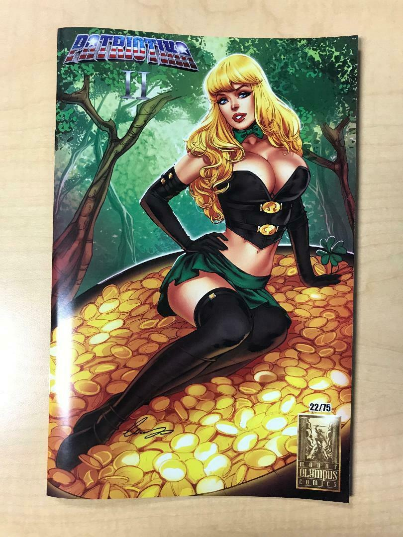 Patriotika #2 2019 St Patrick's Day Variant Cover by Elias Chatzoudis 75 Made!!!