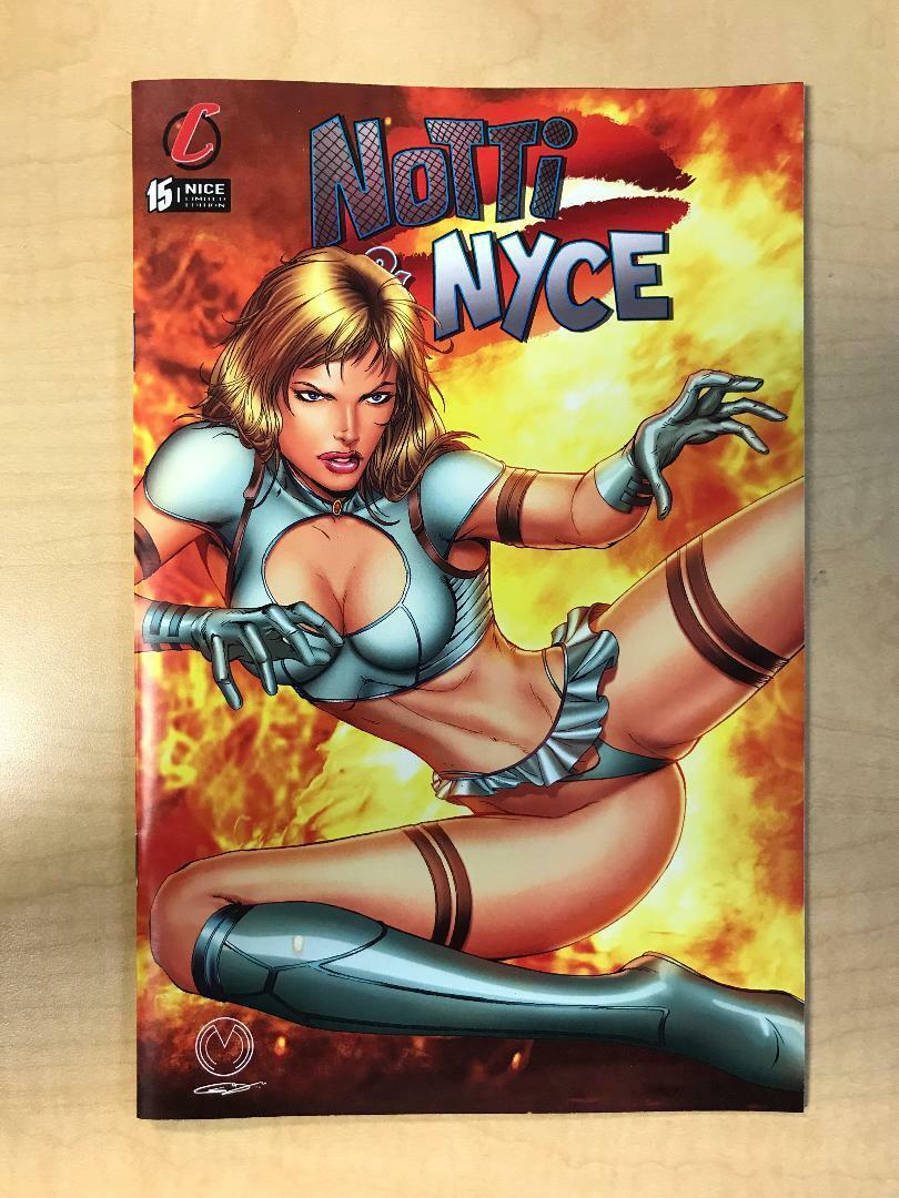 Notti & Nyce #15 B Marat Mychaels NICE Variant Cover Counterpoint Comics