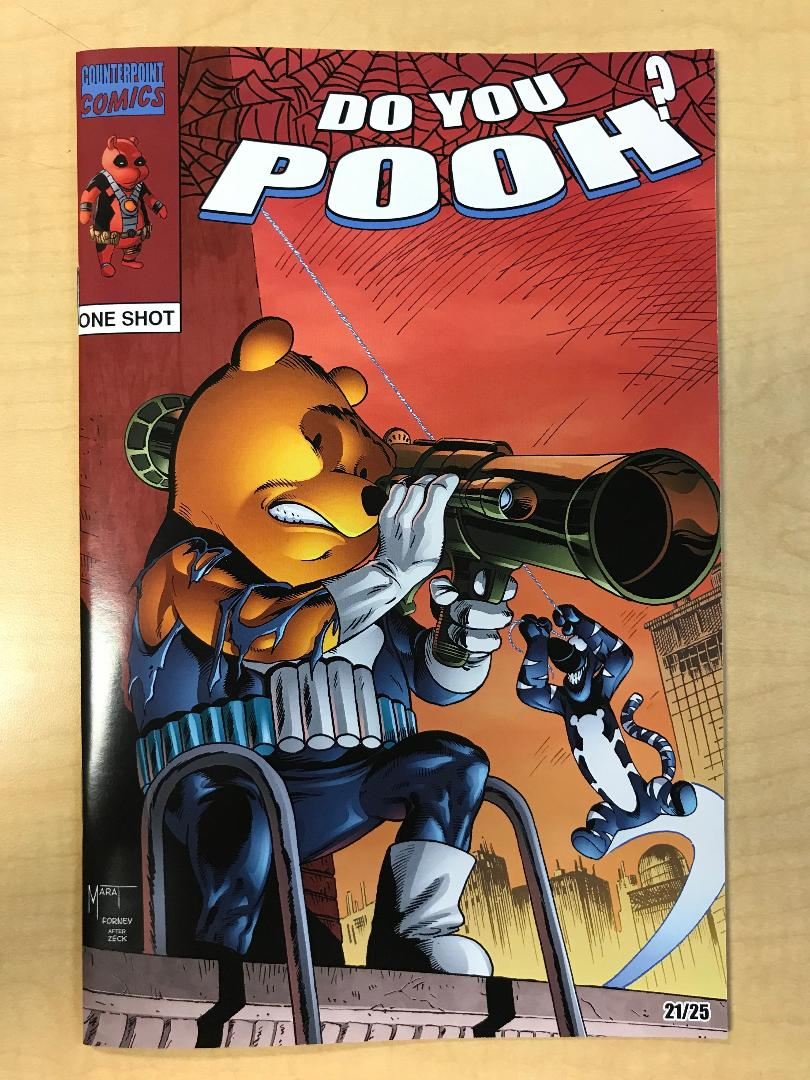 Do You Pooh? #1 Amazing Spider-Man #285 Mike Zeck Homage Variant Cover by Marat Mychaels Only 25 Copies Made!!!