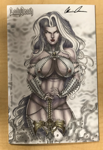 Load image into Gallery viewer, Lady Death: Revelations #1 NAUGHTY Edition Variant Cover by David Harrigan Signed by Brian Pulido w/ COA!!!