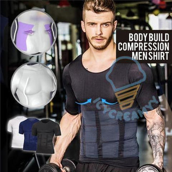 Body Build Compression Men Shirt