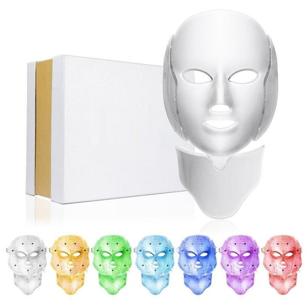 7 Colors LED Light Facial Mask