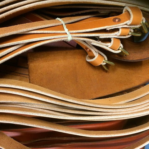Orox Handcrafted Leather Goods - the best English bridle leather for the best handmade leather bag straps