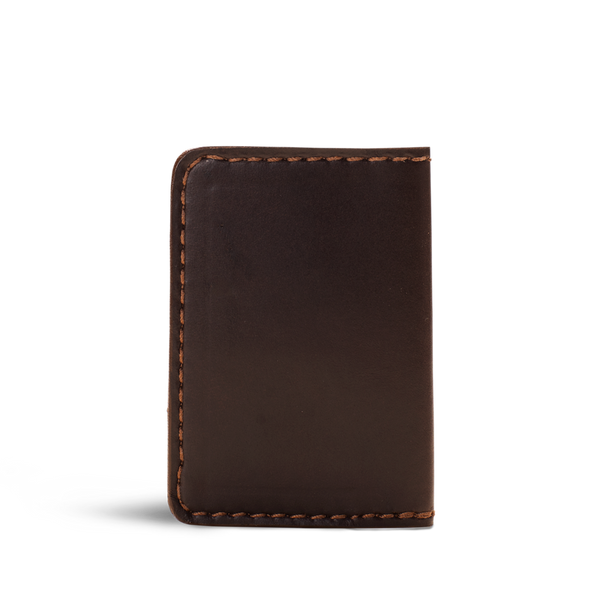 Hand crafted leather minimalist wallet with high quality luxury craftsmanship made to last a lifetime, made for men and women  to stay organized in fashion.