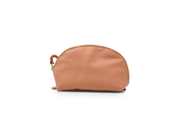 Ladybug Pouch - Coral