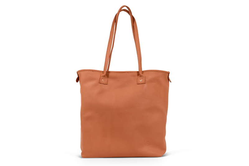 High Quality Handcrafted Leather Purse Orox Fashion Bag Sunshine Tote Coral