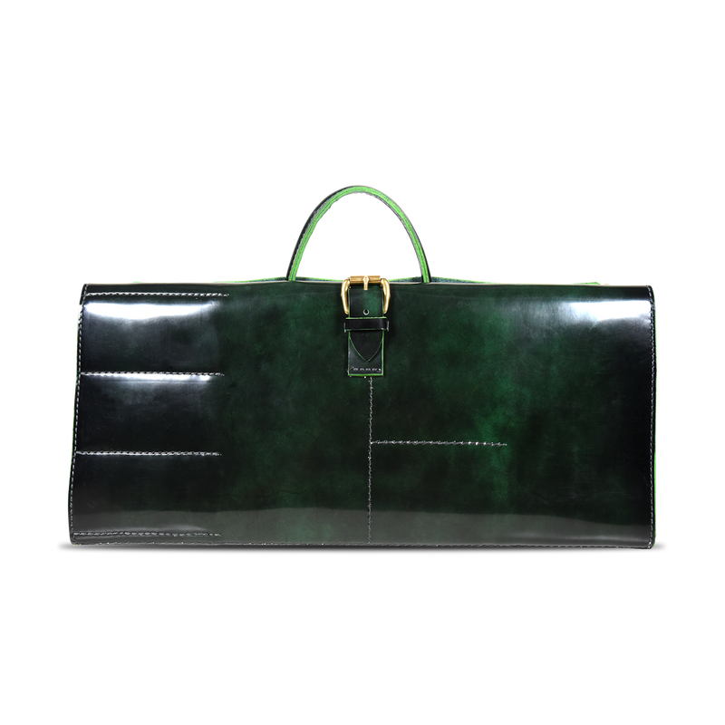 Orox Leather Co. X Gregory Gourdet - Knife Roll - Emerald