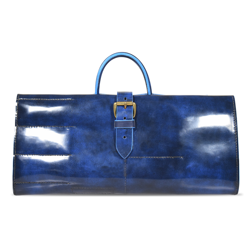 Orox Leather Co. X Gregory Gourdet - Knife Roll - Sapphire