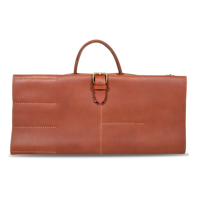 Orox Leather Co. X Gregory Gourdet - Knife Roll - Tan