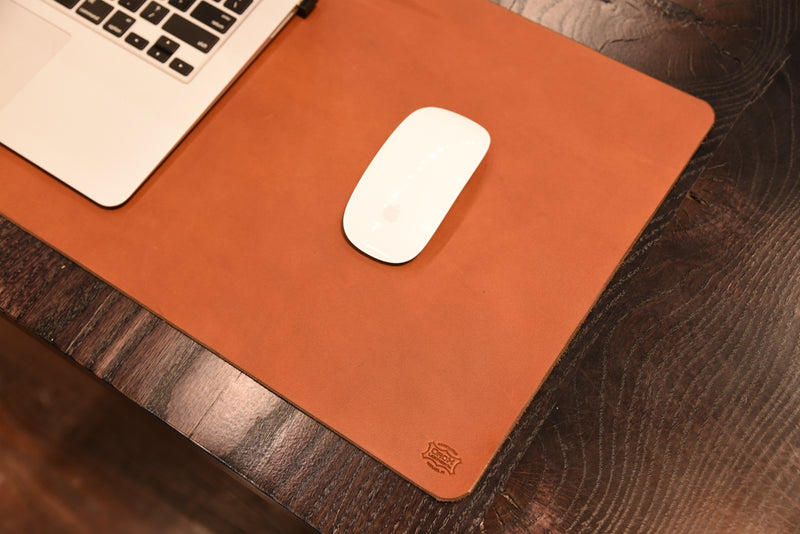 Desk Mat Tan - Medium - 12x36""