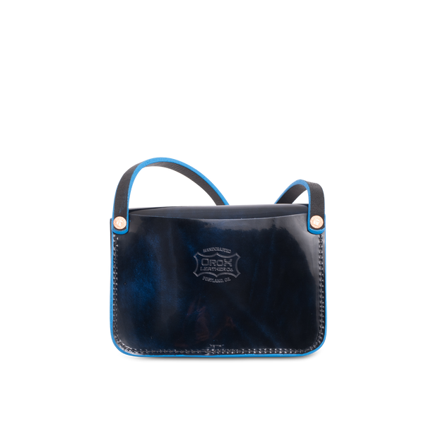 Orox Leather Co. handcrafted leather Merces Petite Luster handbag crossbody with high quality luxury craftsmanship made to last a lifetime, made for men and women to stay organized and travel in fashion.