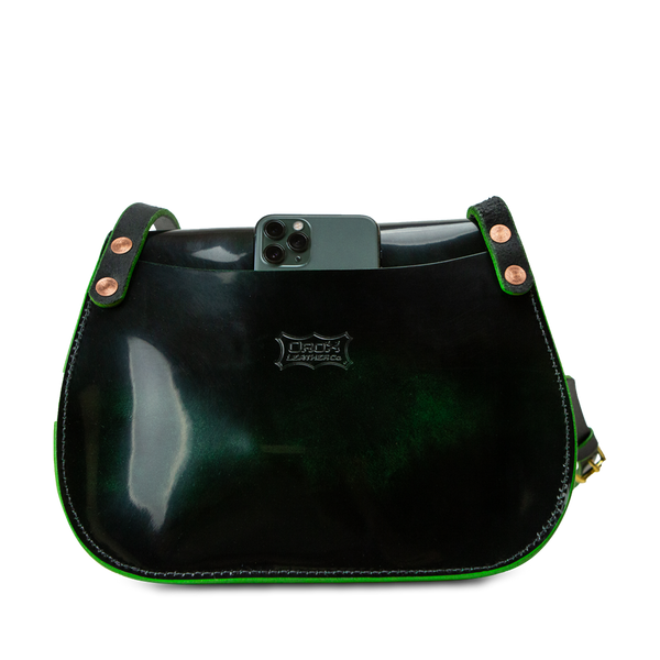 Merces Saddle Luster - Emerald