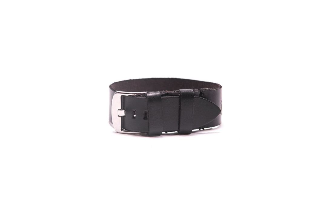 Single Watchband - 22mm - Black