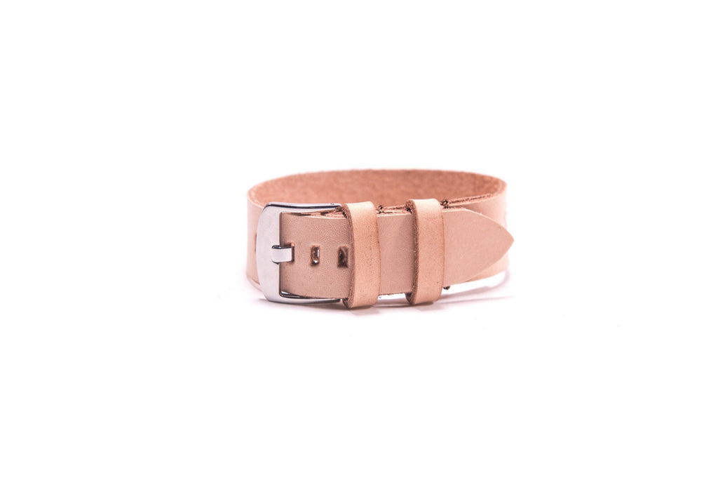 Single Watchband - 22mm - Veg Tan