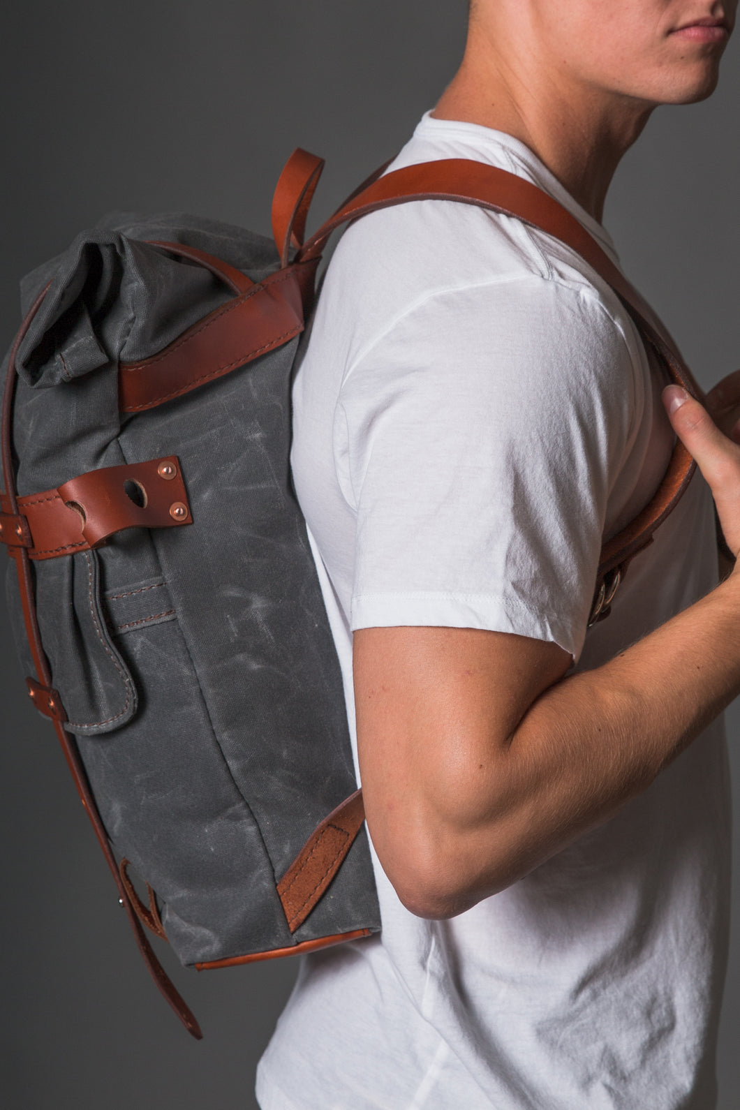 The Parva Rucksack by Orox Leather Co. travel product recommended by Hank Richardson on Lifney.