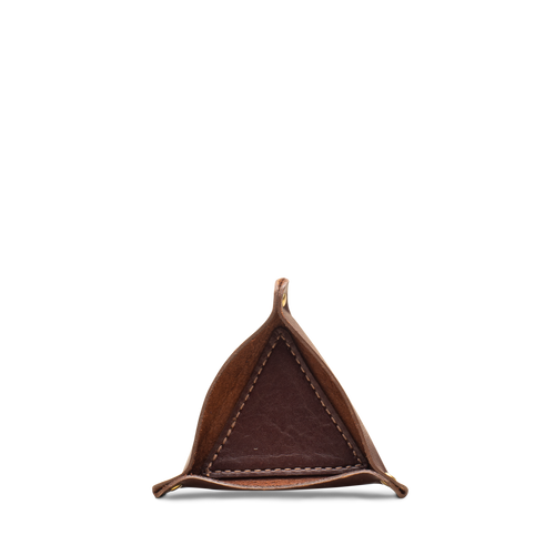 Triangle Ring Tray- Brown