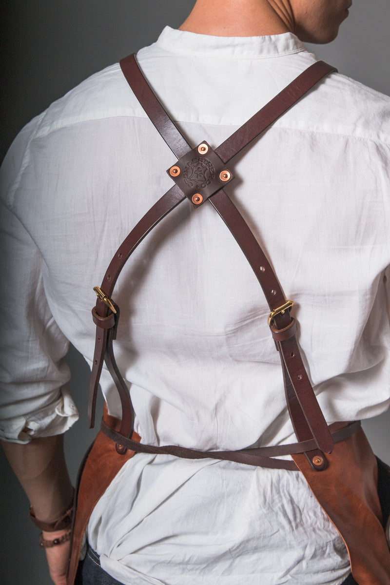 Tradesman Apron - Tan Leather