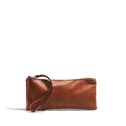 Hand crafted leather clutch with high quality luxury craftsmanship made to last a lifetime, made for women to stay organized in fashion.