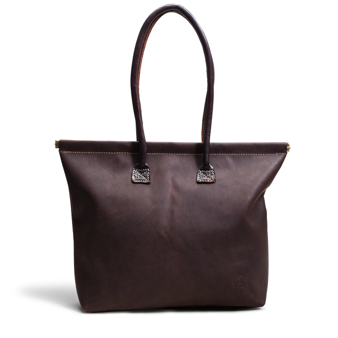 Orox Brown Leather Tote