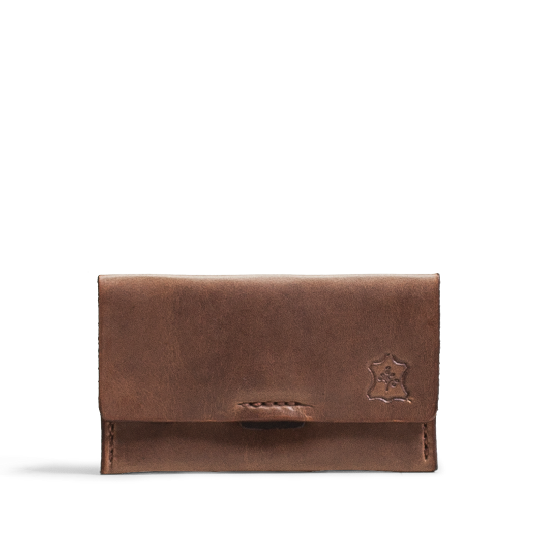 Orox Natural Leather Horizontal Cardholder